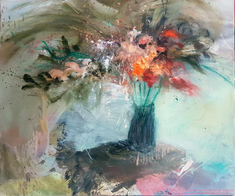 Marion Robert - Bouquet (Huile sur toile - 60 x 73 cm) 1 900 €