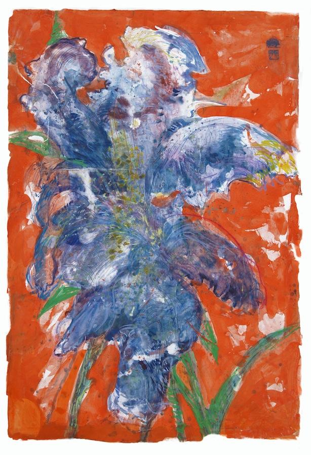Charlotte de Maupeou est diplômée de l'Ecole Nationale Supérieure des Beaux-Arts de Paris et du Royal College de Londres. Elle a été pensionnaire de la Casa de Velasquez à Madrid de 2000 à 2002. Née en 1973, elle vit et travaille à Courdemanche, dans la Sarthe. Ce qui caractérise l'ensemble de ses travaux et que révèlent ses grandes fleurs, c'est un geste fort, une détermination à entrer dans la peinture. Les touches sont rapides et spontanées, à grands traits la toile est caressée par de larges coups de pinceaux. Derrière cette énergie déployée, cette spontanéité, il y a aussi une cohérence, un contrôle qui fait toute la force de la peinture de Charlotte de Maupeou.